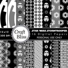 Star Wars Empire digital paper, Darth Vader,death star ...