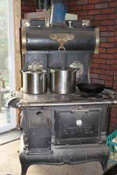 Wood cook Stove.