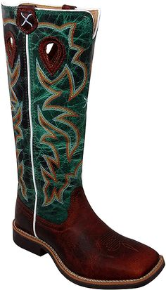 Twisted X Boots YBK0005 - Twisted X Youth Buckaroo Western Boot Style