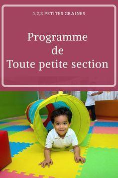 Une année de toute petite section de maternelle. Apprendre en s'amusant. #maternelle #apprentissagesinformelles #ief