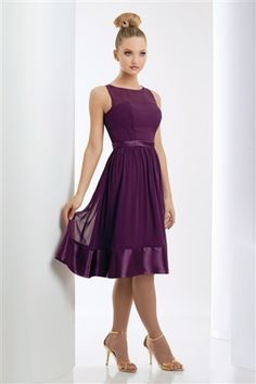 Bari Jay Bridesmaid 920. Visit perfect-bridesmaid-dresses.com for more info.  Just needs a little white jacket. Cute!