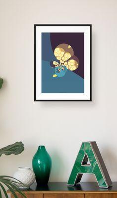 Inspirierende Designposter zur Verschönerung der eigenen Wände oder als Geschenk für Freunde unter: http://www.111dinge.de/designposter/wandbild-designposter-abstrakte-formen/