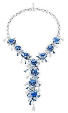 BVLGARI Biennale Sapphire necklace