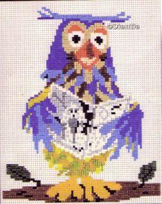 Ministeck.. Meneer de Uil Create A Board, Betty Boop, Perler Beads, Pixel Art, Nostalgia, Crochet Patterns, Teddy Bear, Birds, Toys
