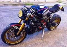 Ducati 999 Pirate Edition by Iron Pirate Garage