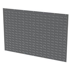 Akro-Mils 30655GY 54-Inch by 34-Inch Louvered Panel for Mounting Plastic Hanging Bins, Grey by Akro-Mils. $78.22. Take back valuable floor space-maximize parts storage and handling efficiency. The 30655 Louvered Panel used with AkroBins offers the ultimate in storage flexibility. Secure stationary racks to the wall or floor and wall-mounted panels to a solid structure. Formed from 16-gauge cold-rolled steel for strength and durability. Louvers securely support AkroBins. Attra...