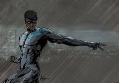 Nightwing by Saxon Blake