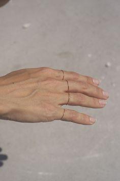 tiny little rings