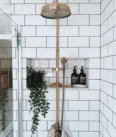 Trendy Bath Room Remodel Small Shower Walk In Half Walls 25 Ideas Beige Bathroom, Small Bathroom, Master Bathroom, Bathroom Ideas, Boho Bathroom, Master Bedrooms, Small Bathtub, Bathroom Marble, Bathroom Makeovers