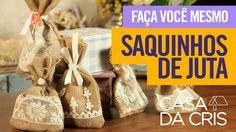 Juta: Saquinhos // Casa da Cris - YouTube