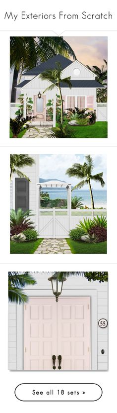 """""""My Exteriors From Scratch"""" by cb-hula ❤ liked on Polyvore featuring art, interior, interiors, interior design, home, home decor, interior decorating, Tempaper, animals and Cabin"""