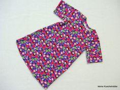 Kleid, Tunika, Erdbeeren, Wunschgröße von kleine Kuschelrobbe auf DaWanda.com