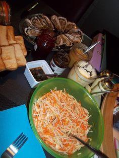 Salade rapée de carotte - radis noir - pomme