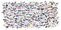 Jenny Odell. 202 Billboard Structures. I am always tempted to buy one of her 20x200 editions...
