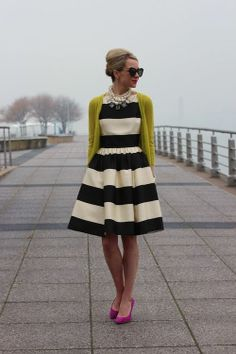 prepfection:   Blair Eadie of Atlantic Pacific in Kate Spade's Carolyn Dress