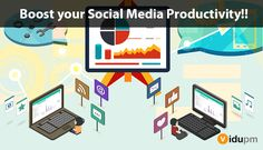#ViduPM is the one of the upcoming #SocialMediaManagementTool to save time and increase the productivity of your business. A very handy tool for daily content sharing and new user engagement. Know more @ https://vidupm.com/seo-smo.aspx