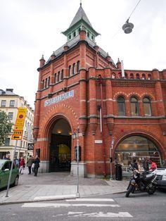 Östermalms Saluhall in Stockholm