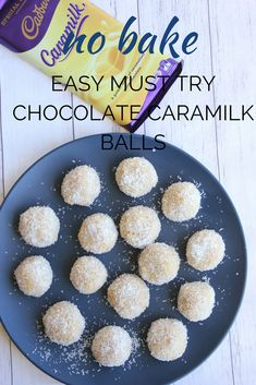 If you love Cadbury Caramilk chocolate as much as the rest of Australian and New Zealand, you must try these easy no bake Chocolate Caramilk Balls. They are so delicious it's hard to stop at just one. Baking Recipes, Snack Recipes, Dessert Recipes, Relish Recipes, Thermomix Desserts, Party Recipes, Xmas Food, Christmas Baking, Christmas Snacks