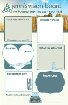 Get This Board only $17 includes 11x17 Printable Poster and Vision Frame as well plus Goal Setting Worksheet! http://www.fireflymediaservices.com/product/beach-vision-board-and-vision-frame/