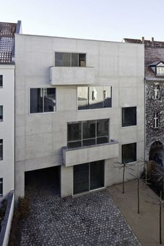 David Chipperfield .  Joachimstrasse . Berlin (6)