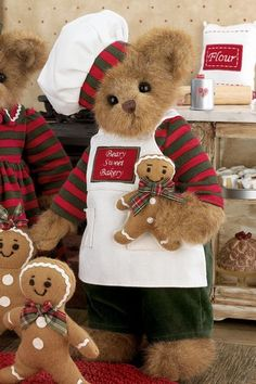 Bearington Bear - Baker Gingerbread Maker