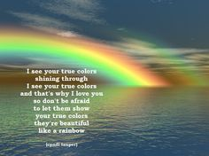 true colors (cyndi lauper)