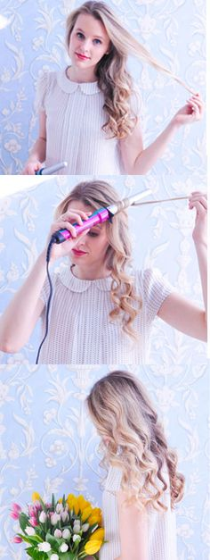 If you've ever wanted to try using a curling wand for soft natural-looking waves, but weren't sure how to maneuver it, this tutorial is for you!