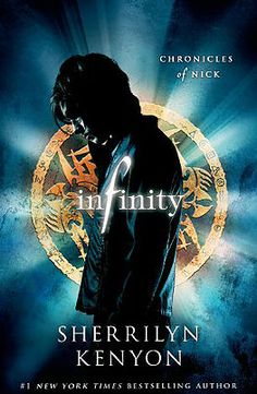 Infinity by Sherrilyn Kenyon Rated: 16+ Nick quickly learns that the human world is only a veil for a much larger and more dangerous one: a world where the captain of the football team is a werewolf and the girl he has a crush on goes out at night to stake the undead. But before he can even learn the rules of this new world, his fellow students are turning into flesh-eating zombies--and he's next on the menu...