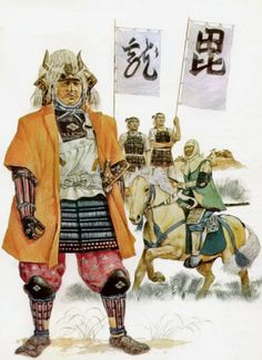 Uesugi Kenshin (上杉 謙信, February 18, 1530 – April 19, 1578) was a daimyo who ruled Echigo province in the Sengoku period of Japan. He was one of the most powerful lords of the Sengoku period. While chiefly remembered for his prowess on the battlefield, Kenshin is also regarded as an extremely skillful administrator who fostered the growth of local industries and trade; his rule saw a marked rise in the standard of living of Echigo.