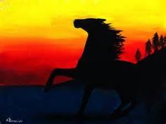 easy horse paintings - Search Yahoo Image Search Results