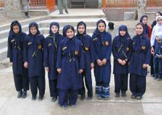 Afghan Girl Scouts Guides Uniform, Gs World, Girl Scout Uniform, Afghan Girl, World Thinking Day, Afghanistan, Girl Scouts, Scrapbook, Craft