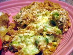 Paula Deen's Broccoli Casserole ~~ every review says to cut the mayo way back, and it never hurts to use more and/or different cheeses.