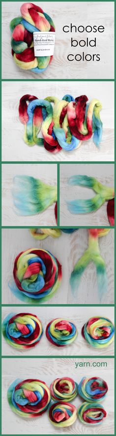 Creating a fractal yarn from hand dyed fiber. Read more on the WEBS Blog at blog.yarn.com