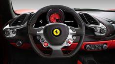 This is Ferrari's turbocharged 488 GTB