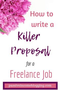 Writing a Freelance