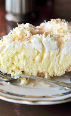 Old-Fashioned Coconut Cream Pie Recipe. I make my coconut Pies just like this and they are wonderful.