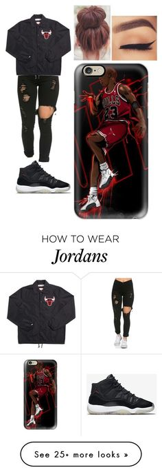 """""""Untitled #706"""" by ilianavaldez on Polyvore featuring NIKE and Casetify"""