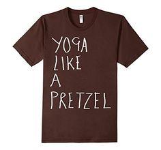 Men's Yoga Like A Pretzel Shirt, Medium Brown Yoga tshirt... https://www.amazon.com/dp/B01KIN1BF6/ref=cm_sw_r_pi_dp_x_f3Y7xbPH5NAAQ