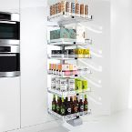 Richelieu's Convoy Pull-Out Pantry System for Accessible Storage