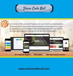 Share Code Null - A great community which provide many Scripts, Plugins and Themes for sharing. Freelance Marketplace, Admin Panel, Brand Building, Better One, Virtual Assistant, Looking Up, Business Card Design, Script, Effort