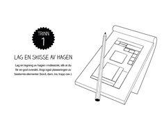 Lysplan trinn 1: Lag en hageskisse Drupal