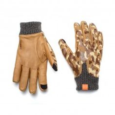 Logan Camo Desert Gloves