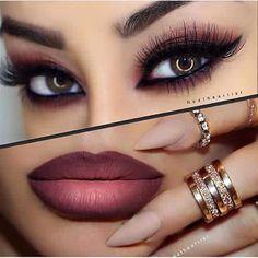 Que OS parece este maquillaje de noche???