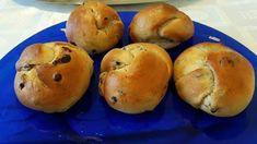 Σταφιδόψωμα αφράτα !!! ~ ΜΑΓΕΙΡΙΚΗ ΚΑΙ ΣΥΝΤΑΓΕΣ 2 Bagel, Bread, Food, Brot, Essen, Baking, Meals, Breads, Buns