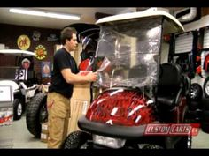 Golf Cart Tutorial - #Windshields - Customcarts.ca