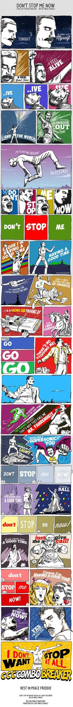 Dont stop me now. Dont stop me now. - Coldplay Funny - Coldplay Funny meme - - Dont stop me now. Dont stop me now. The post Dont stop me now. Dont stop me now. appeared first on Gag Dad. Queen Freddie Mercury, Freddie Mercury Quotes, Now Quotes, Music Quotes, Music Lyrics, Music Humor, Funny Quotes, Funny Music, Lyric Art