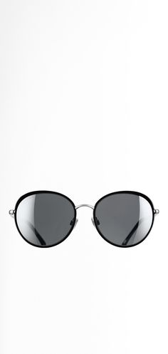 0e1b22688147ee Lunettes de soleil, métal-noir - CHANEL Lunettes De Soleil Chanel, Lunettes  Solaires