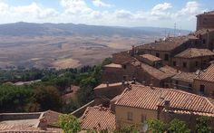 Can't get a better view than this, Volterra, Italy.join us in 2016 for one of our famous Italy tours! Siena Italy, Italy Tours, Nice View, Italy Travel, Tuscany, Grand Canyon, Places To Go, Join, Nude