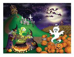 Halloween Insta-Mural