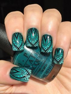 This stamping plate set includes a wide selection of designs and patterns that i. Flower Nail Designs, Diy Nail Designs, Nail Polish Designs, Beautiful Nail Art, Gorgeous Nails, Pretty Nails, Perfect Nails, Types Of Nails Shapes, French Tip Nails